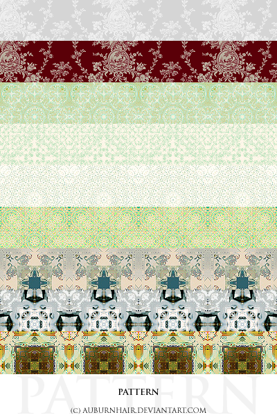 "004 ""Pattern"" by auburnhair"
