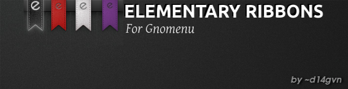 Gnomenu Elementary Ribbons by d14gvn