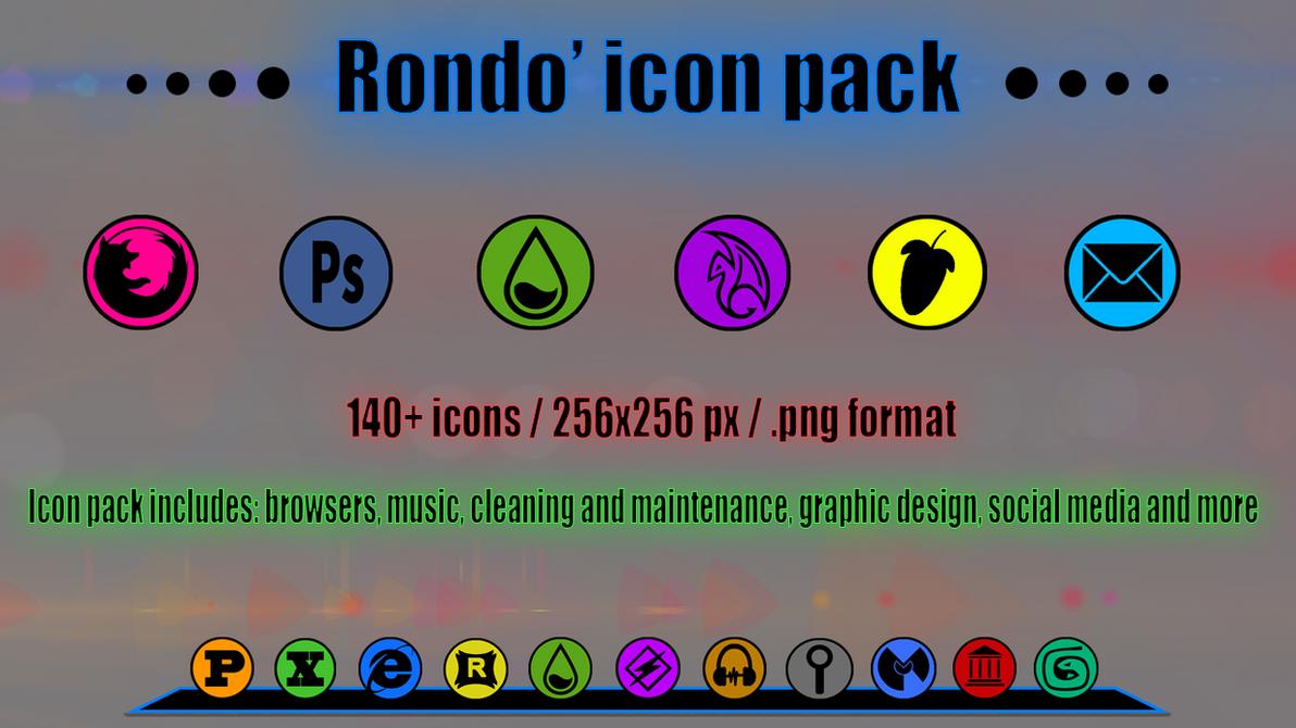 Rondo' iconpack by spiraloso