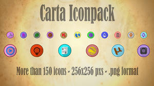 Carta iconpack
