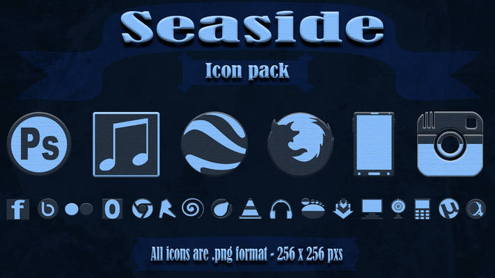 Seaside Icons Pack