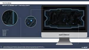 Titan's spaceship window