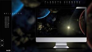 Planets scene