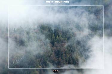 Misty Mountains by spiraloso