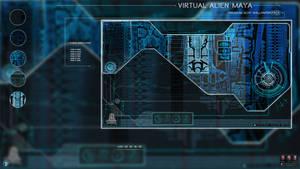 Virtual Alien Maya