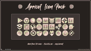 Apricot Icon Pack