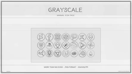 GrayScale Icon Pack