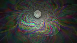Sphere Rainbow - Fractal Wallpaper