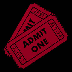 Movie Ticket Dock Icon