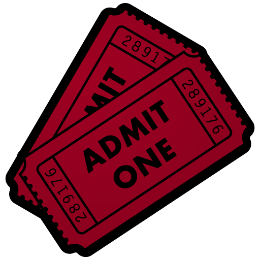 movie ticket dock icon by kaboom88 on deviantart rh kaboom88 deviantart com movie tickets clipart movie ticket clipart black and white