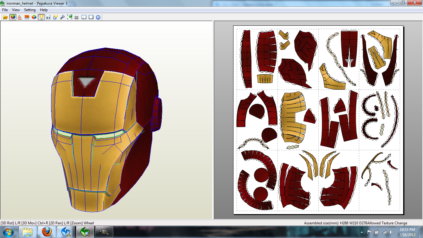 Mvc3 iron man helmet papercraft by johnnymuffintop on deviantart johnnymuffintop mvc3 iron man helmet papercraft by johnnymuffintop pronofoot35fo Image collections