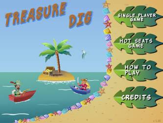 Treasure Dig - flash game