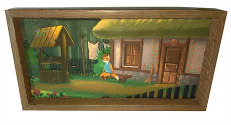 TailFox paper diorama #1 - Home (1)