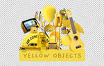 [O|PNG PACK #1] YELLOW OBJECTS