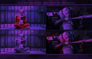 [07] PSD coloring: Bad Guys by Rosesylla