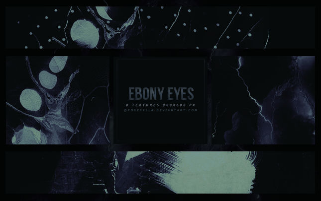 [16] Texture Pack: Ebony eyes