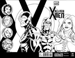 X-Men-sketchcover12001 by terrypallot