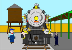 The Chattanooga Choo Choo (for AgentC-24) by vincentberkan