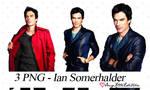 2 Pack - 3 png de Ian Somerhalder