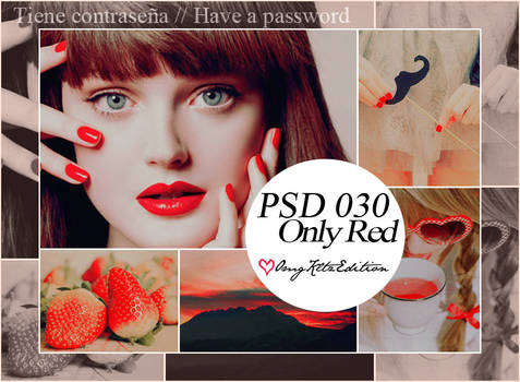 PSD 030 Only Red