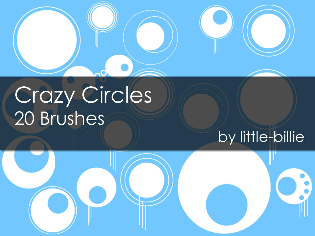 Crazy Circles - Brushes by little-billie