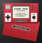 Retro Gamer Business Card