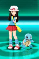 MMD-Pokemon Masters - Leaf *DL*