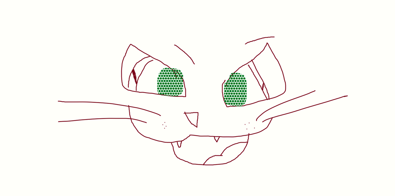 How I do my cat faces by infinitystar2525