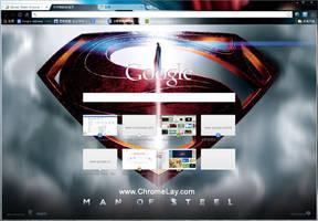 Man of Steel theme (1280x800, 1024x768) by chromelay