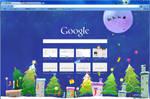Christmas illustration theme by chromelay