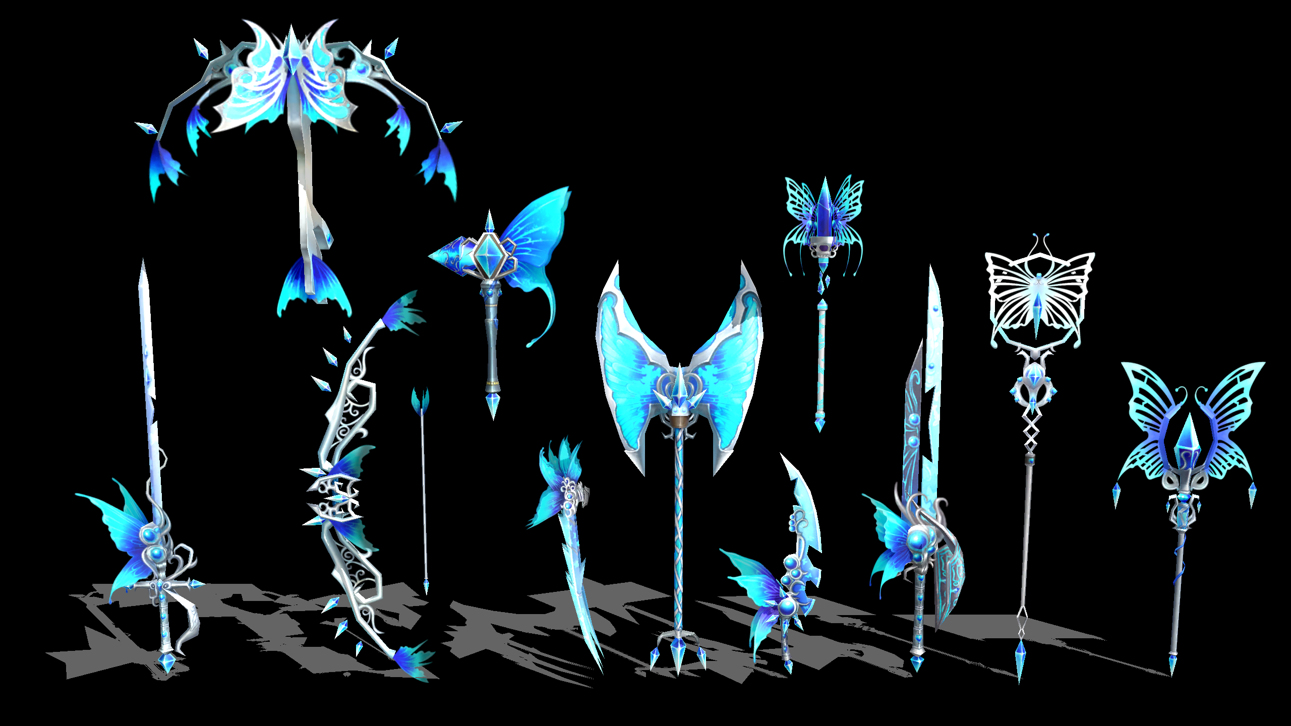 Butterfly weapons download by sirknightthomas on deviantart for Deviantart vrchat avatars