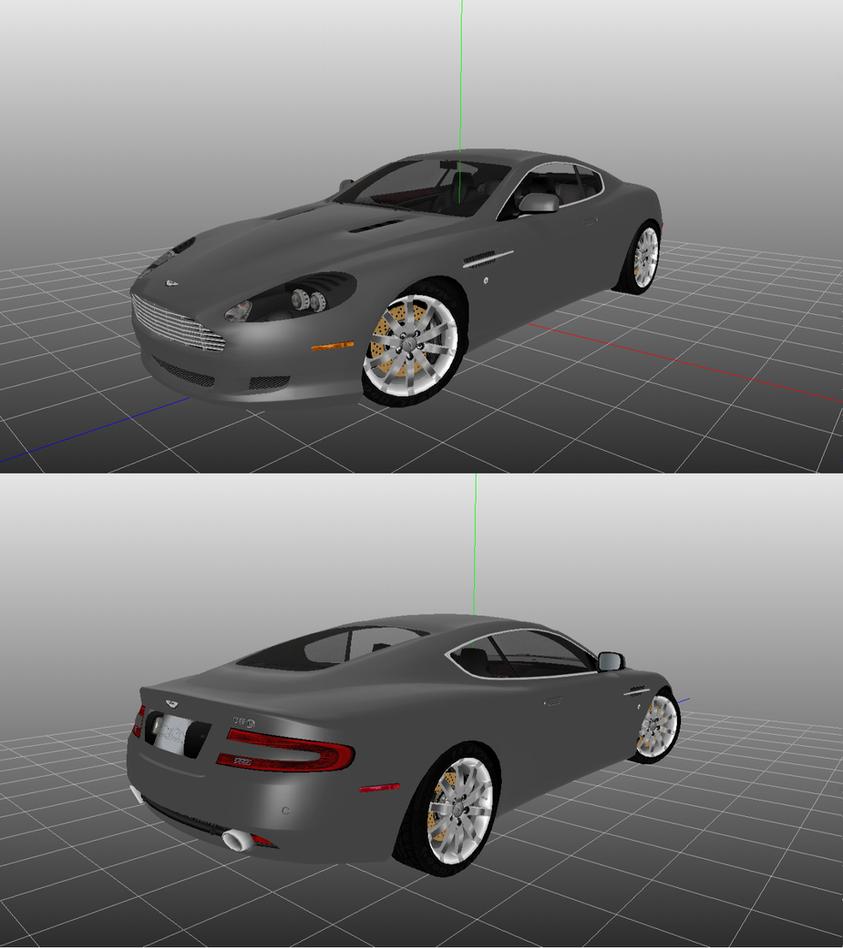 Aston Martin DB9 By SirKnightThomas On DeviantArt