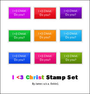 I Love Christ Stamp Set