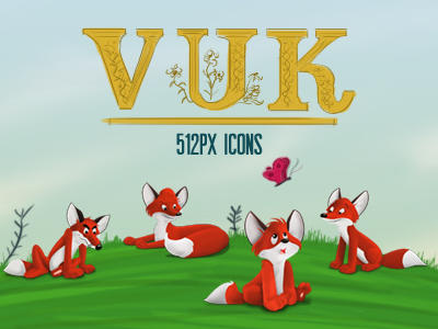 Vuk Icons by tonehal
