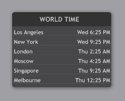 illustroWorldTime 1.0.3a