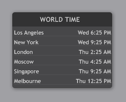 illustroWorldTime 1.0.3a by Eclectic-Tech