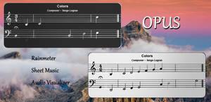 Opus for Rainmeter