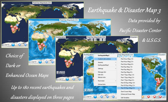 Earthquake Map 3