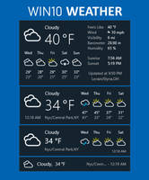 Win10 Weather [Patch V2.0.1) by Eclectic-Tech