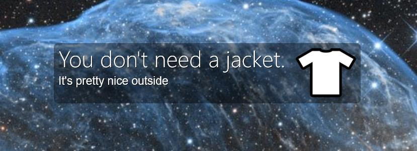 DINAJ (Do I Need A Jacket) 4