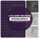 Retro Wallpapers v1 Gimp Brushes