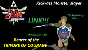 Legend of Zelda : Skyward Sword Link demo download