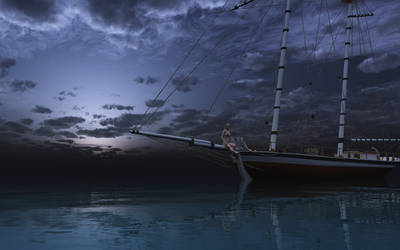 Anchor at Sea