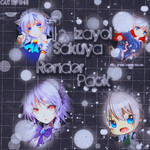 12 Izayoi Sakuya Render Pack