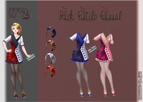 Pack de ropa /Sucrette/ by NatsumeHajime