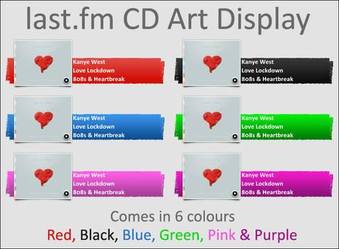 last.fm for CD Art Display