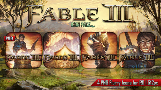 Fable III - Icon Pack