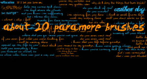 Paramore brushes by outoftheblue15