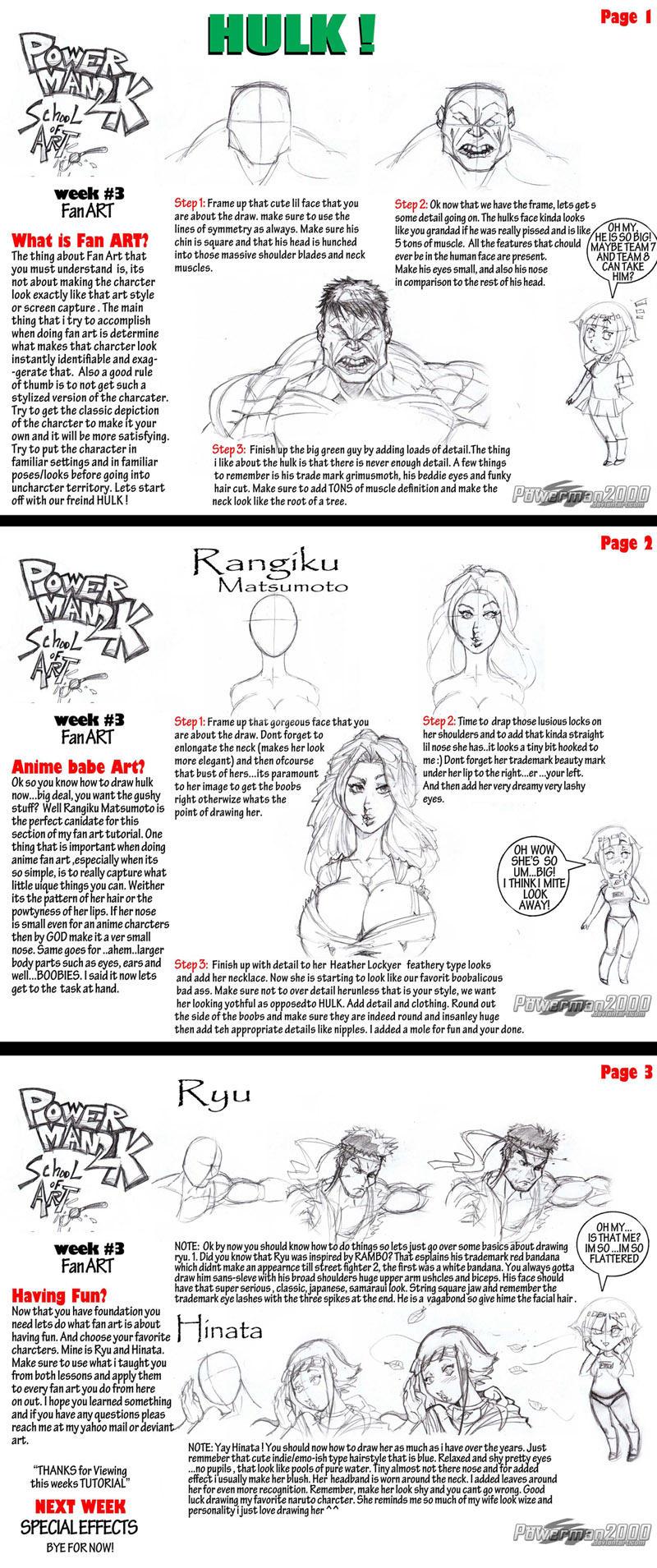 Tutorial: How to draw fanart by powerman2000