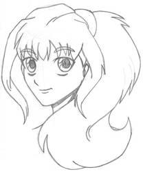 Long Wavy Hair by wydelode